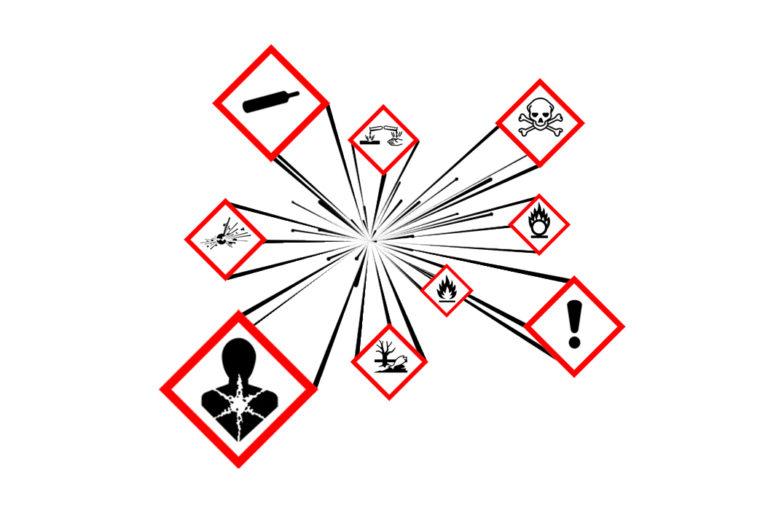 Gefahrenstoffsymbole