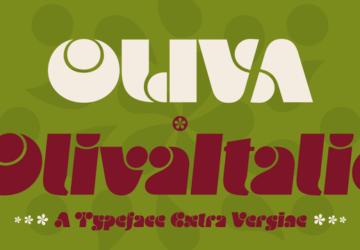 Oliva Typeface