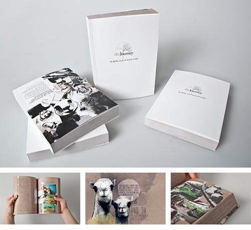 TheJourney - Buchprojekt, Reisebericht, illustrierter Blog