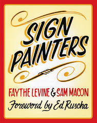 Sign painters by Faythe Levine and Sam Macon